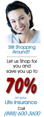 PrimeQuote Insurance Services- Still Shopping Around? Let us shop for you and save you up to 70% on your term life insurance